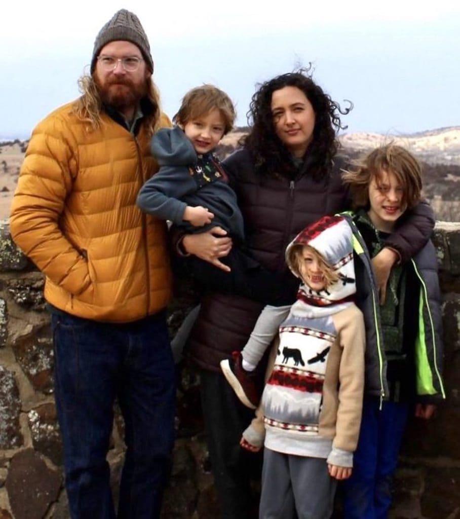 Family Photo of Hook Family