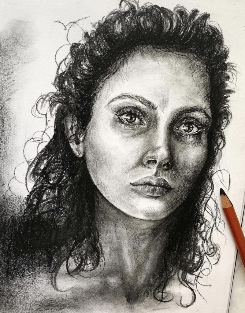 Angie Hook Drawing