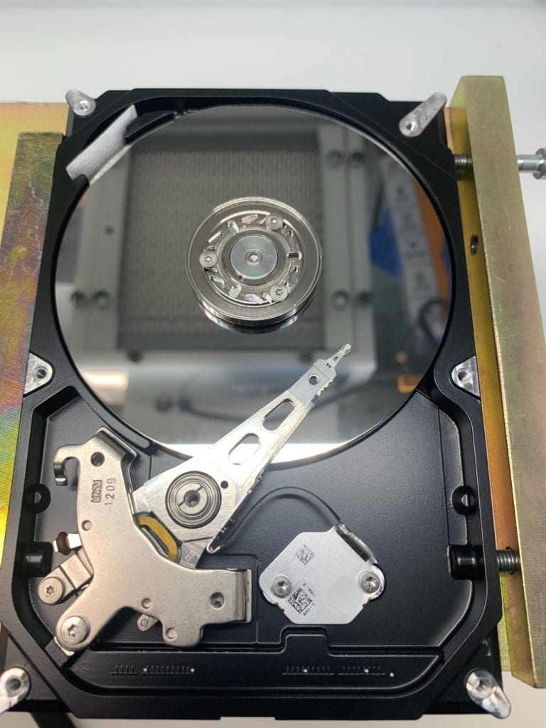 Seagate ST3500413AS Parked