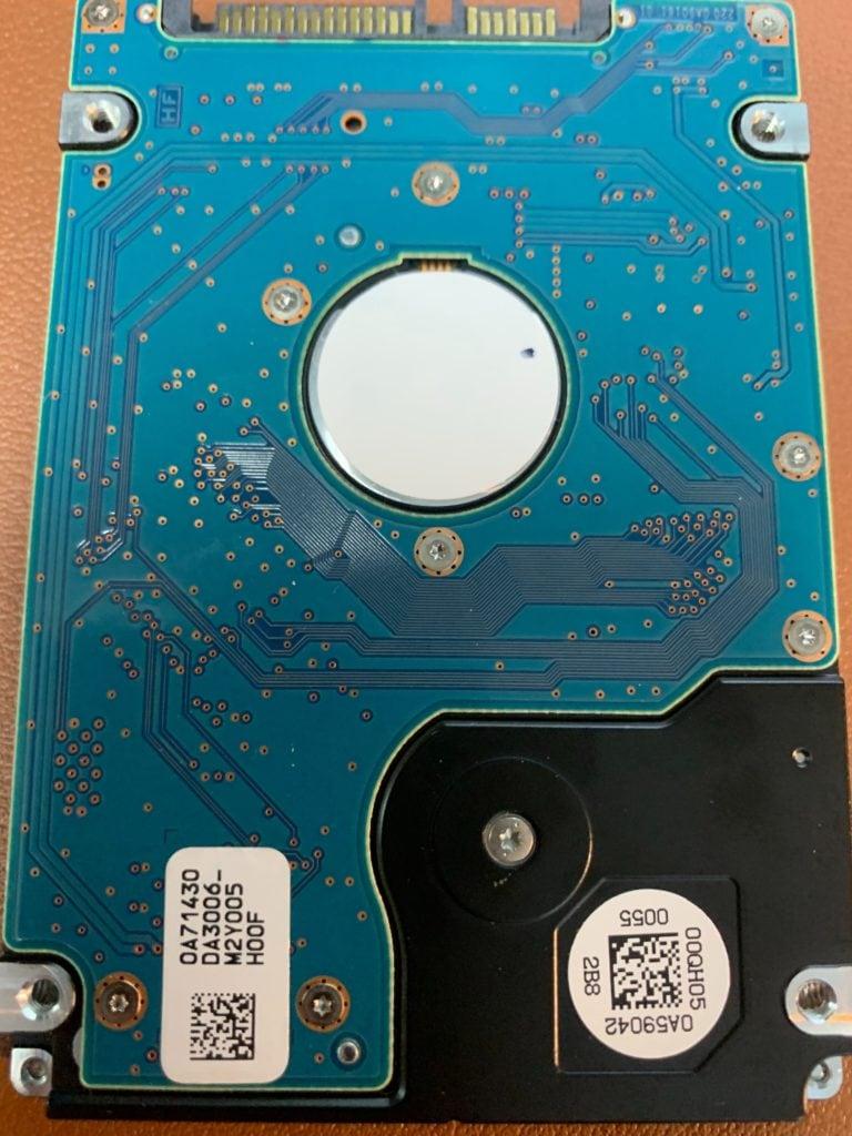 PCB Of Hitachi HTS725050A9A362 500GB Hard Drive With Bad Head
